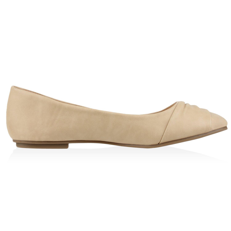 Stiefelparadies - Bailarinas Mujer , color gris, talla 38