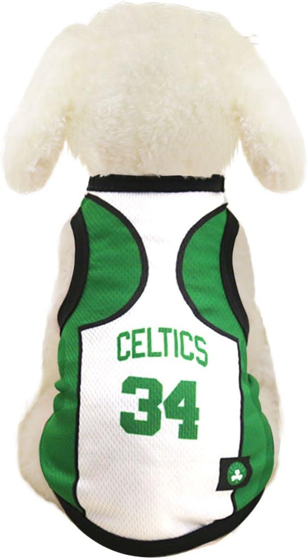 SymbolLife Ropa para perros NBA Baloncesto camiseta Perros Disfraz ...
