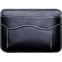 AMOUTOR Car Side Pocket Organizer, Auto Seat Pockets PU Leather Pen Phone Holder Tray Pouch Used for Car Door, Window…