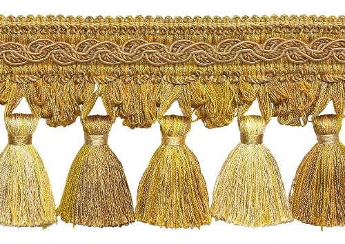 5 Yard Value Pack of Two Tone Gold 4