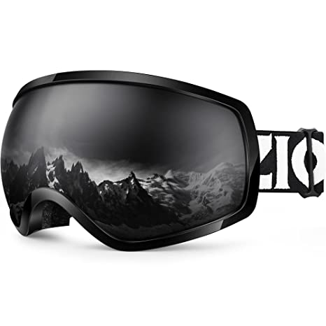 1c9f4761746 Amazon.com   Zionor Lagopus OTG Ski Snowboard Goggles Updated Version UV  Protection Anti-Fog Helmet Compatible for Men Women   Sports   Outdoors