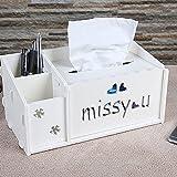 Finance Plan Creative Storage Box,Tissue Remote