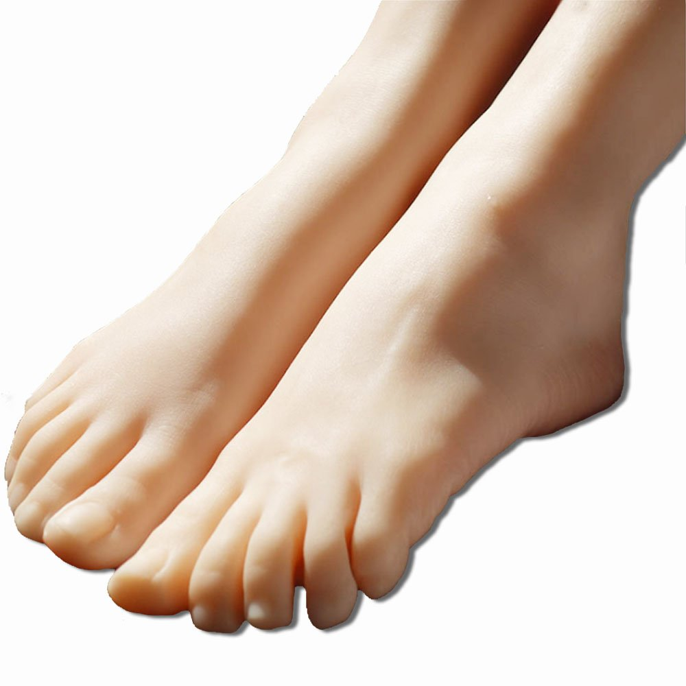 New Vivid Retail Right Foot Display Mannequin Dummy Model for Pedicure Art Sketch ZKF