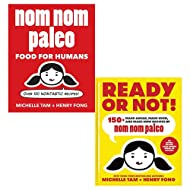Nom nom paleo and ready or not collection 2 books set by michelle tam