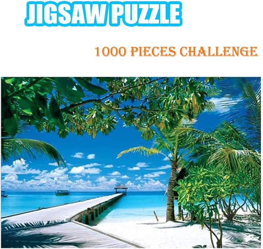 DIY Jigsaw Test Tube Jigsaw Puzzle Beautiful Scenery Puzzle Game for Adults Kids