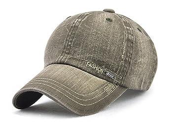 Tenxin Gorra de béisbol Sombreros Gorras Vintage Gorra de béisbol Farmroy Sombrero Apenado Ajustable