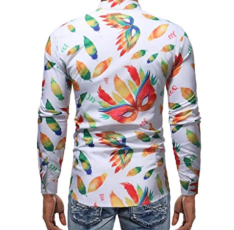 Zimaes-Men No Iron Fit Hipster Pure Color Long Sleeve Dress Shirt Tops