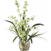 Nearly Natural Liquid Illusion Dancing Lady Orchid Silk Flower