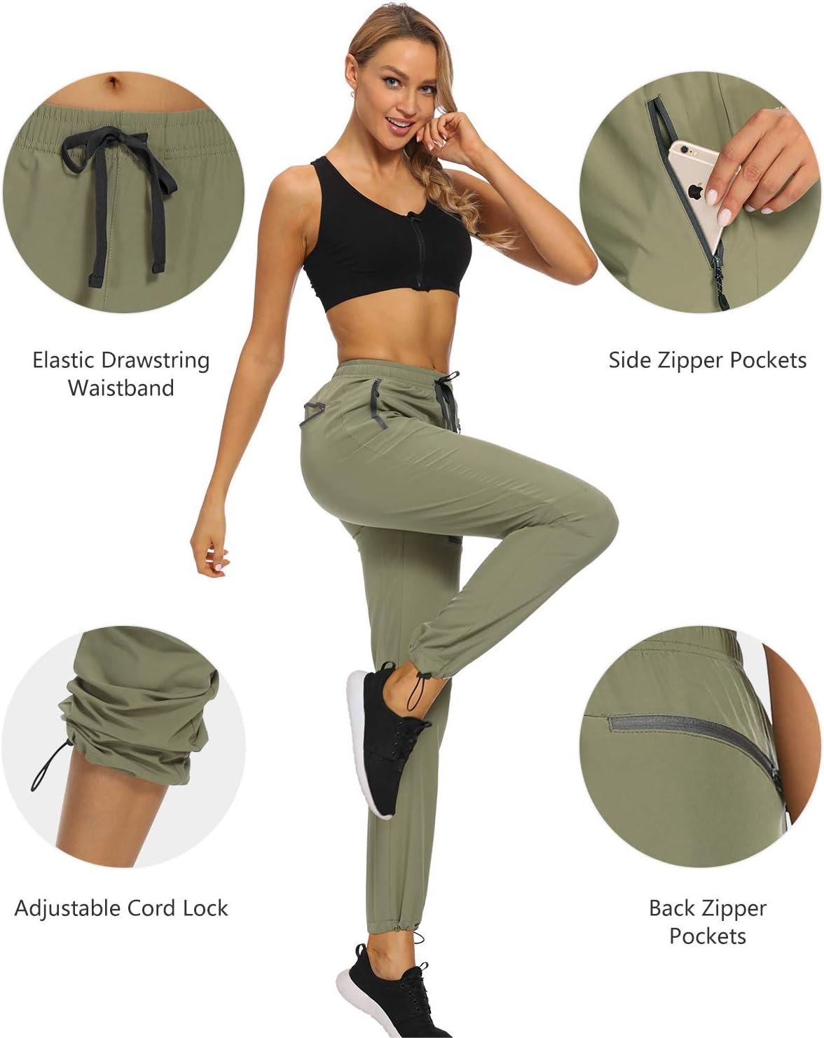 Womens Hiking Pants Lightweight Quick Dry
