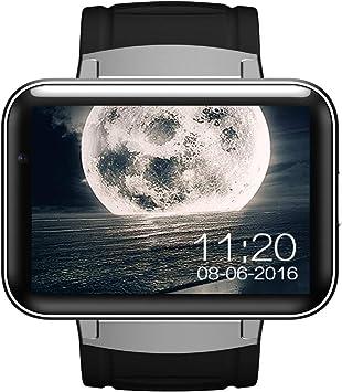 tianluo - Reloj Inteligente de Pulsera, diseño Cuadrado: Amazon.es: Electrónica