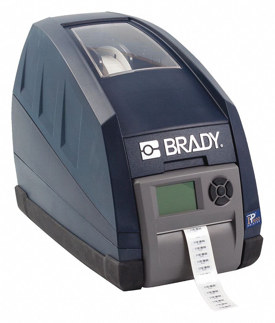 Brady IP Printer 600 Dpi Standard Material Recognition and Automatic Formatting BP-IP600