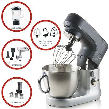 umfangreiches Zubehör Küchenmaschinen Sets inkl Küchenmaschine KM-6618