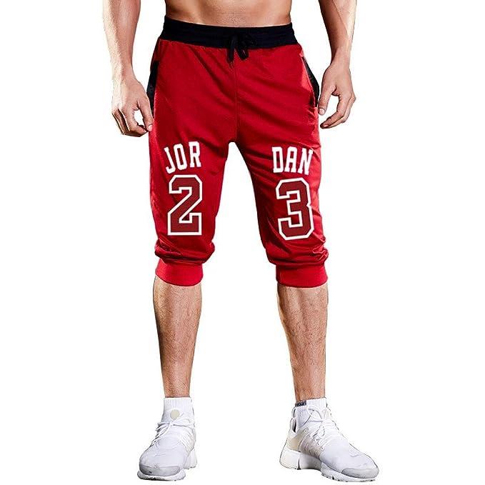 Amazon.com: Pantalones cortos para hombre Jordan 23 Jogger ...