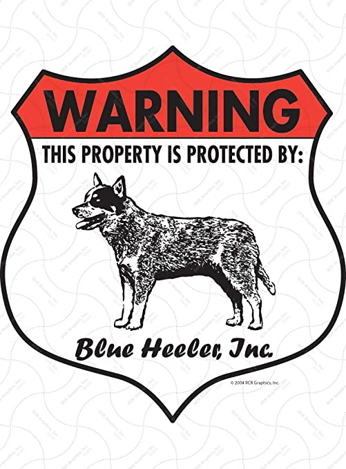 Blue Heeler STREET SIGN ~ High Quality Aluminum ~ Dog L