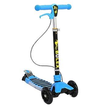 Patinete Cimiva Patinete scooter plegable con 3 ruedas para niños de 3-13 años de edad