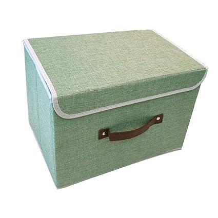Axiba Cajas de almacenaje Ropa Engrosamiento de Almacenamiento Caja Ropa Ambiente Almacenamiento Caja 38 * 25