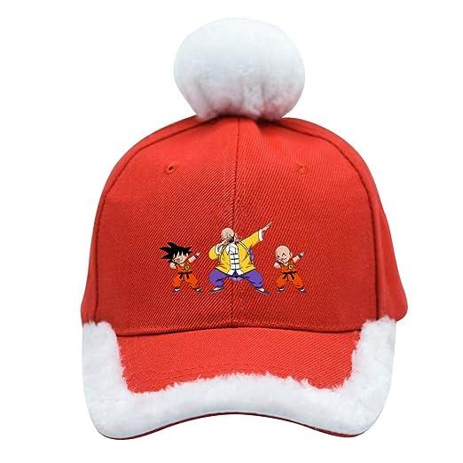 7ee3a21a Image Unavailable. Image not available for. Color: Dabbing Go-ku Festive Christmas  Baseball Cap Santa ...