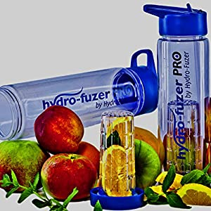 Hydro-Fuzer PRO SPORT-- Fruit Infuser Water Bottle for Sports, Travel, Hiking, Office, Gym, Home