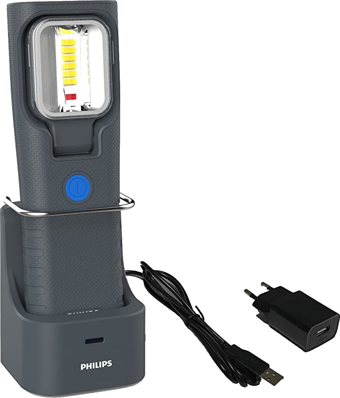Philips LED Arbeitsleuchte RCH31 with charging stand: Amazon