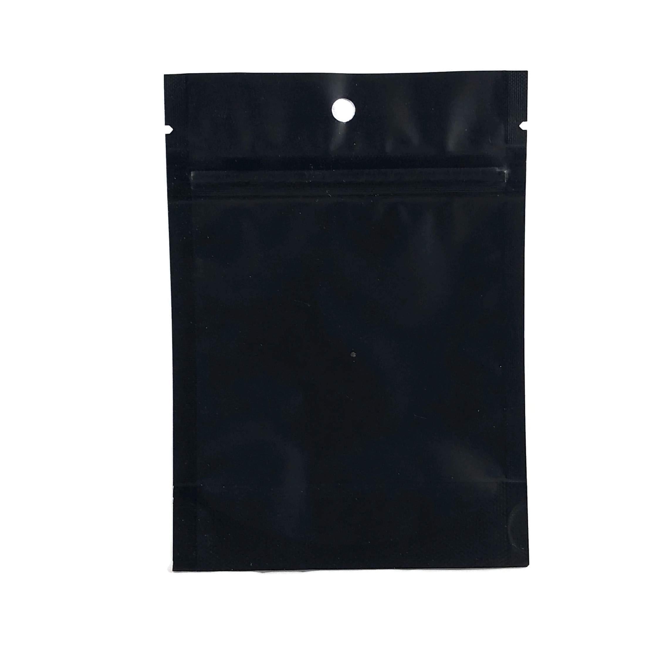 BISCOTTI Stickers & Mylar Barrier Bag - 3.5 GRAM - Heat Sealable - (Zip Lock Canna Bags, Billy Kimber, Paris OG) (50) by BIGSMOKE (Image #3)