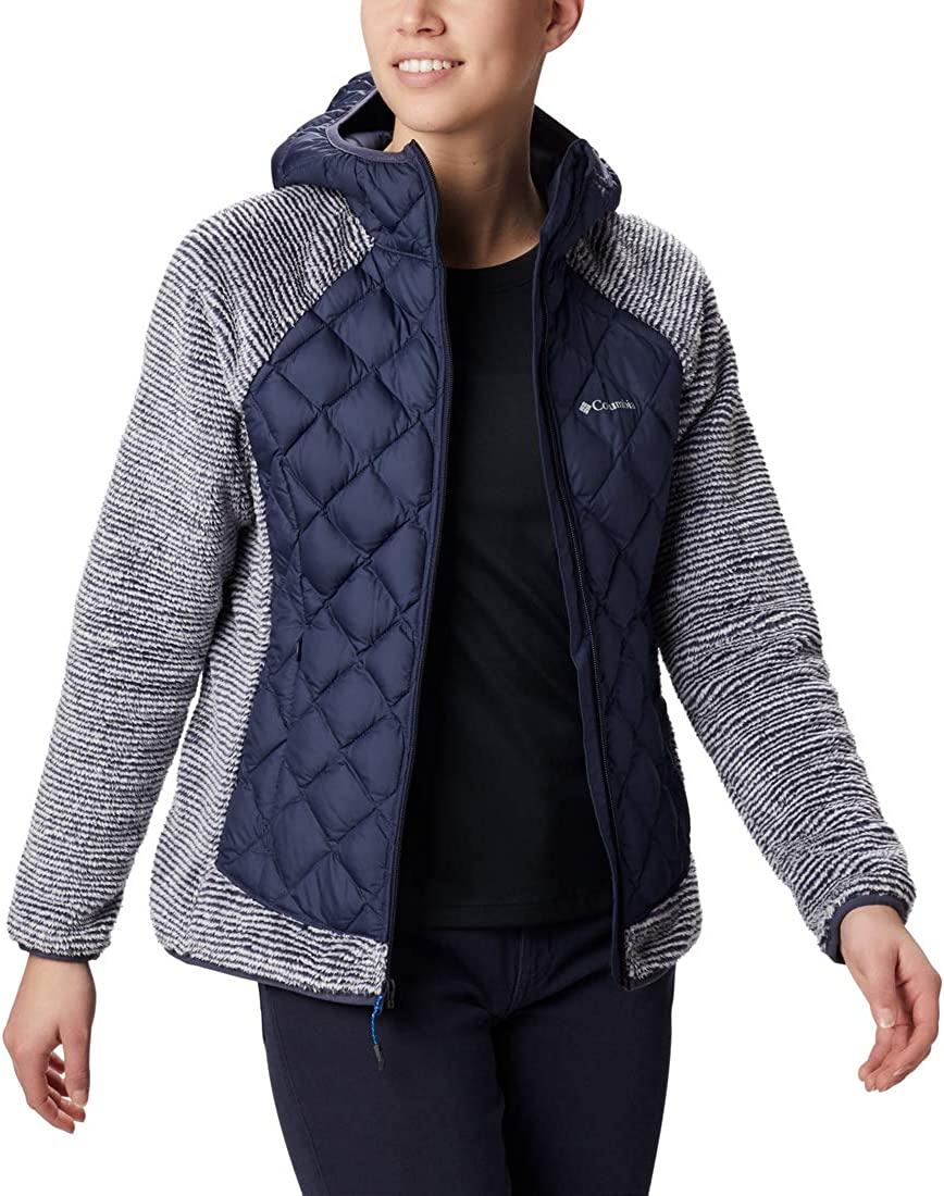 Columbia Womens Techy Hybrid Fleece