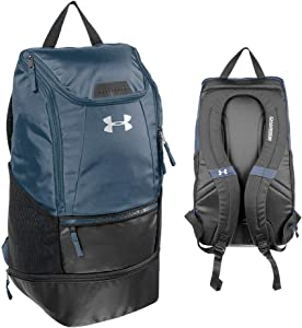Under Armour Soccer Backpack, NAVY BLUE, Large
