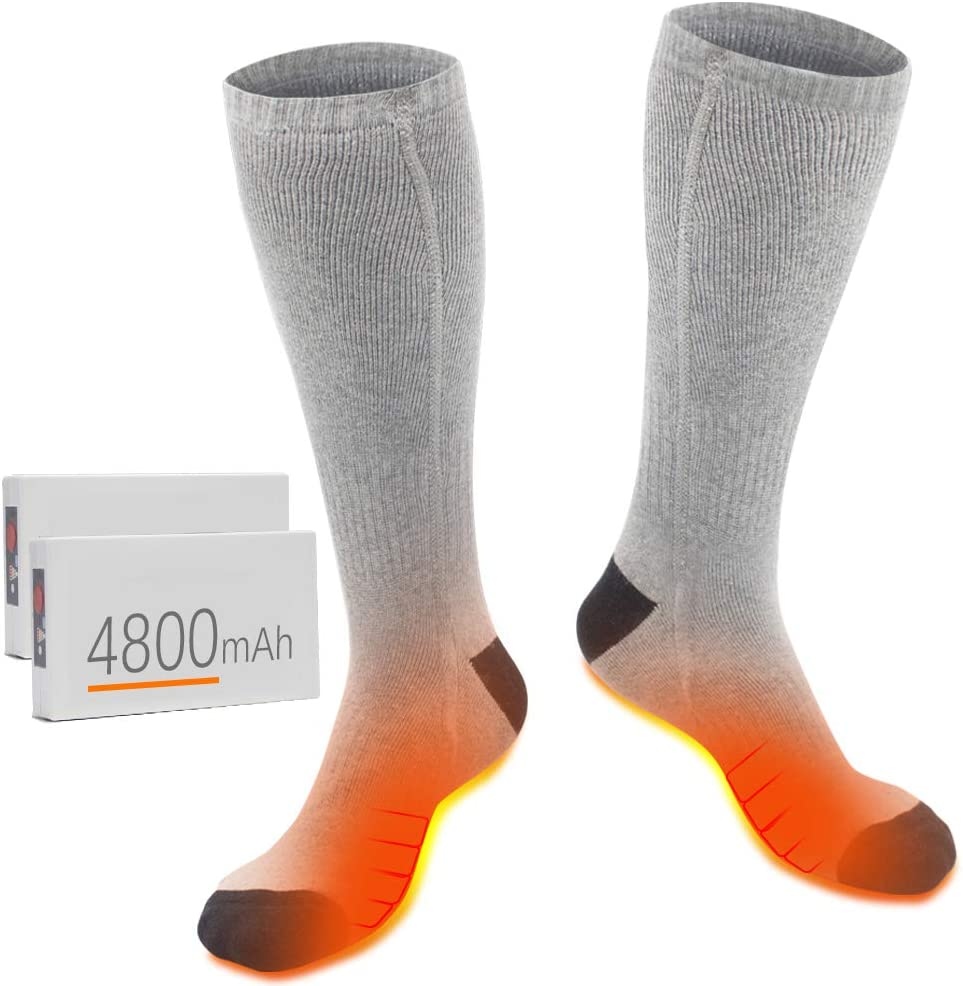XBUTY Store Rechargeable Heated Socks