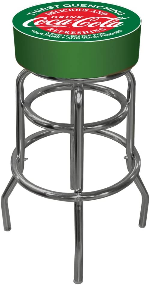 BTEXPERT Rustic Round 30 inch Counter Bar stool,