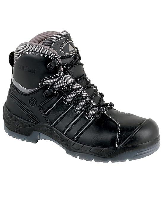 Panoply - Calzado de protección para hombre, color negro, talla 10 UK