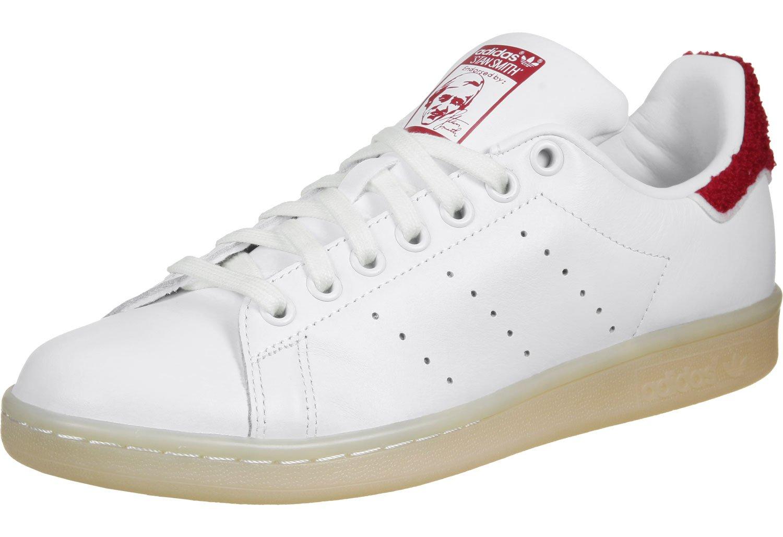 adidas Damen Stan Smith W Sneaker  44 EU Blanc