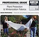 DeWitt Deluxe .5 oz 7' x 500' Frost Freeze Protection Cloth Germination Blanket Deluxe7