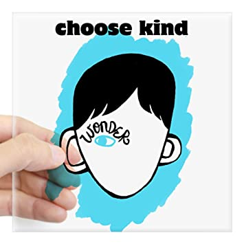 Cafepress wonder choose kind square sticker 3 x 3 square