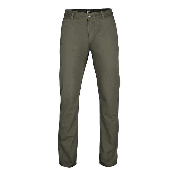 c5d6632ab5d Asquith & Fox - Pantalones chinos casuales Modelo Classic para hombre  caballero (3XLR/Pizarra