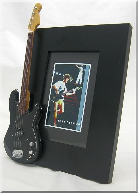 JOHN DEACON miniatura Marco de la guitarra Imagen Fender Precision ...