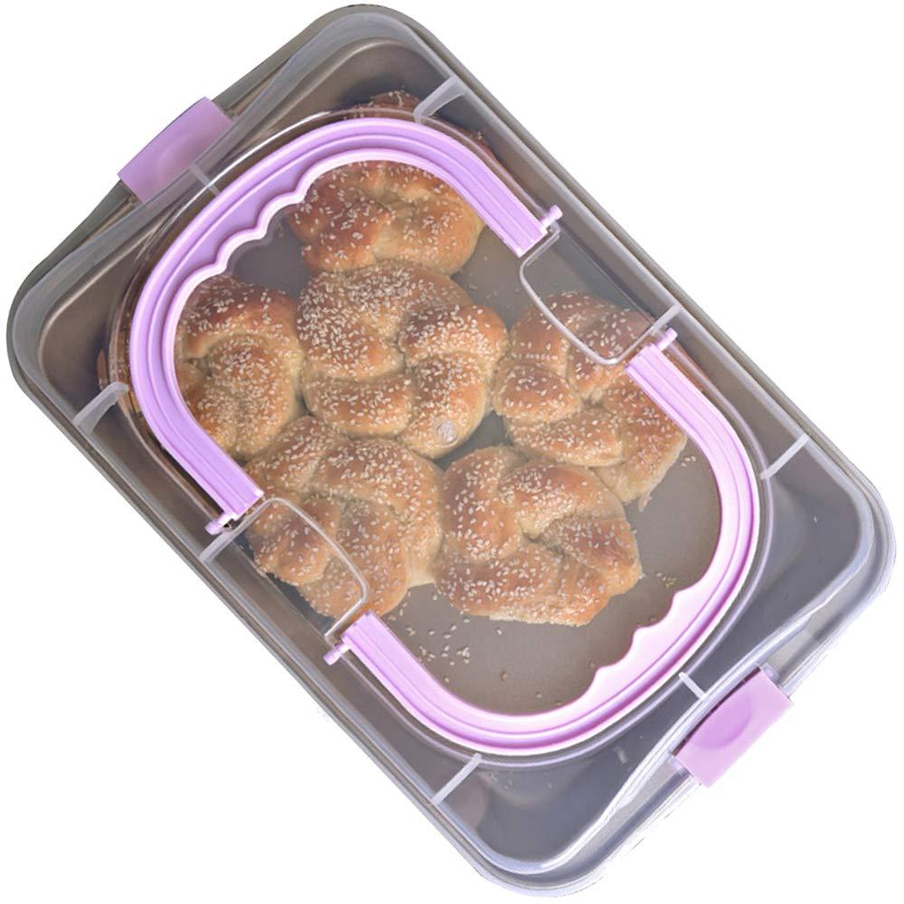 QELEG Multi-function Baking Tray Household Oven Cake Carrier