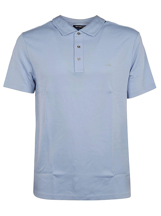 Michael Kors Luxury Fashion Hombre CS95FGV20B404 Azul Claro Polo ...