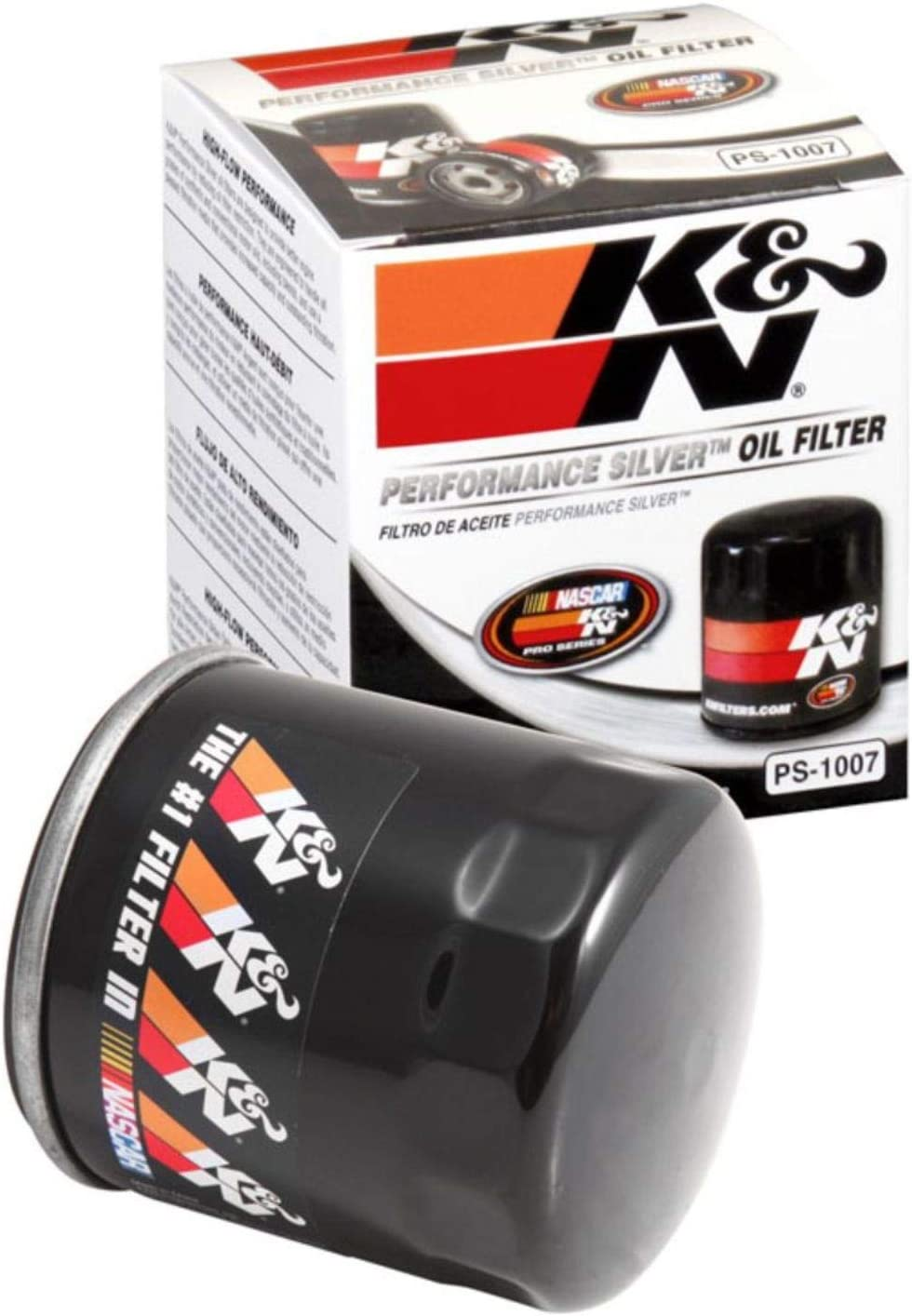 K&N Premium Oil Filter: Designed to Protect your Engine: Fits Select CHEVROLET/GMC/ISUZU/BUICK Vehicle Models (See Product Description for Full List of Compatible Vehicles), PS-1007