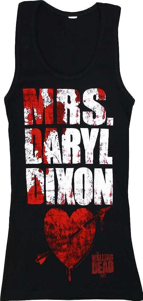 The Walking Dead Mrs. Daryl Dixon Junior's Tank Top, X-Large Changes 09-397-108-BK-XL