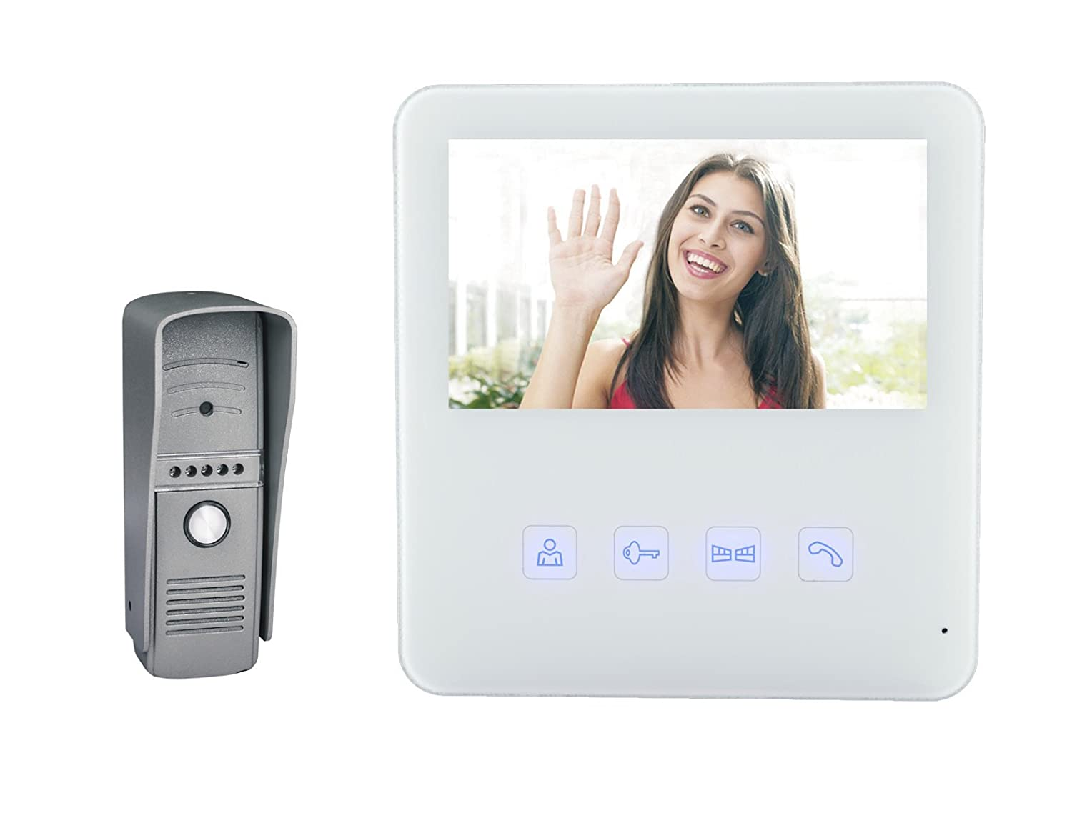 Buy Havells ACNNEXB000 Wired Color Video Door Phone (White) (With Free Installation) Online at Low Prices in India - Amazon.in  sc 1 st  Amazon.in & Buy Havells ACNNEXB000 Wired Color Video Door Phone (White) (With ...