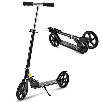 Amazon.com: Hikole Scooter para adultos y niños – Plegable ...