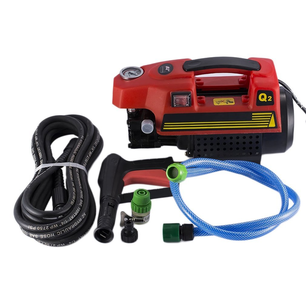 Kath Power Pressure Washer,Portable Electric Power Washer 1500 PSI (Red) by Kath (Image #7)