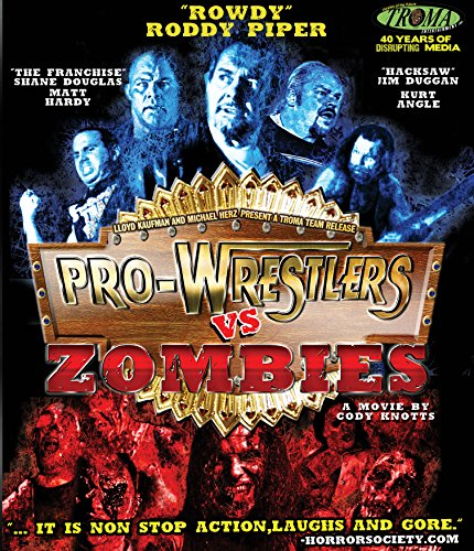 Pro-Wrestlers Vs. Zombies (Blu-ray)