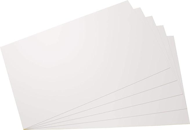 295mm x 200mm x 2mm acheter 3 pi/èces solid plastique plaque pour mod/élisme//bricolage couleur blanche diff/érentes tailles et quantit/és Plaques PS en fort polystyr/ène plaques en dur