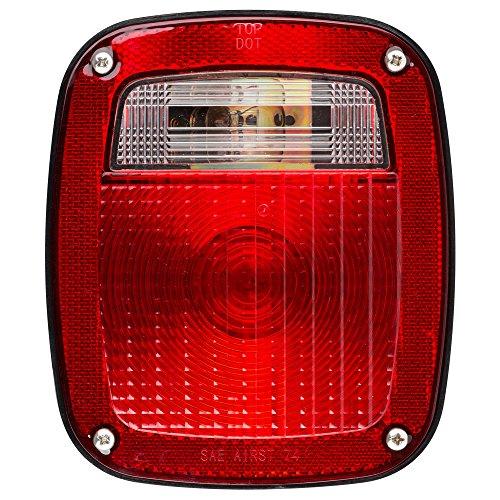 White Stop//Turn//Tail Light Lumitronics RV Surface Mount Tail Light