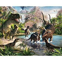 Walltastic WT41745 Dinosaur Land Wall Mural