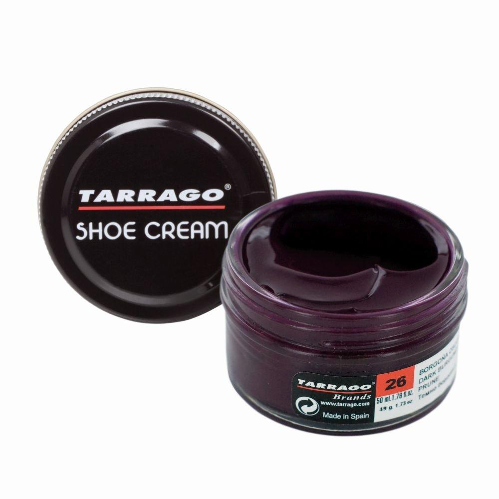 Tarrago Shoe Cream Jar 50 ml - Crema tinta para zapatos y bolsos, unisex, adulto, Verde nilo (Nile Green 115), 50 ml