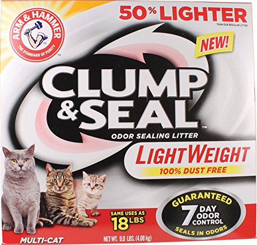 Arm & Hammer Clump and Seal Lightweight Multi-Cat Litter 61MGAJIWmrL