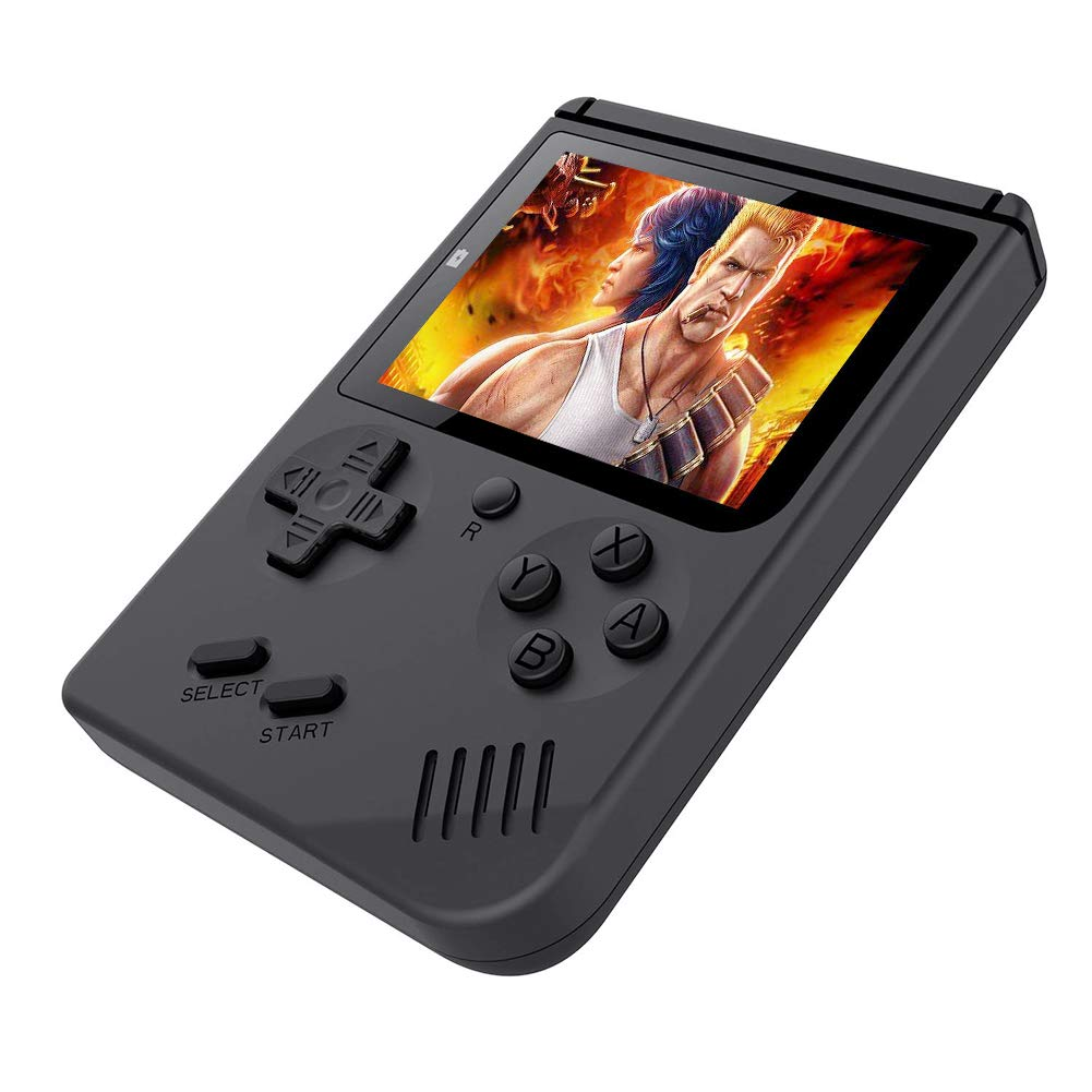 FAITHPRO Handheld Game Console with Built in 168 Games, 2 Player 3 Inch Screen USB Charger Supports TV Output Retro FC Video Game Console, Good Gifts for Kids and Adults by FAITHPRO (Image #5)