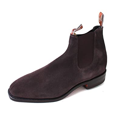 Craftsman Chocolate/Suede, Größen:41.5 R.M. Williams