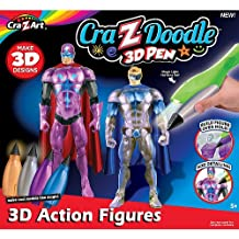 Crazy Art Doodle 3D Action Heroes